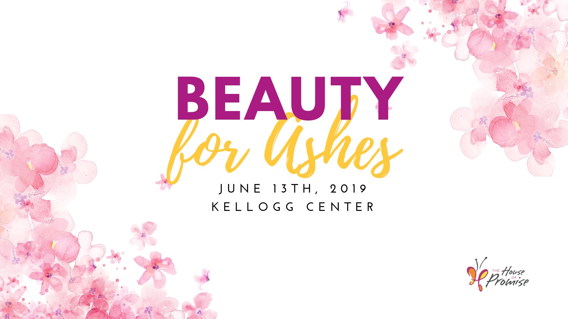 Beauty for Ashes fundraiser charity event lansing michigan